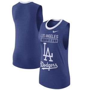 Nike LA Dodgers Tank Top Cooperstown Collection